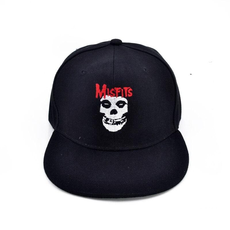 f2e9b032135da The misfits band cap fashion Hardcore punk band Baseball caps Glenn Danzig  rock Men and women dad hat-in Baseball Caps from Apparel Accessories on ...