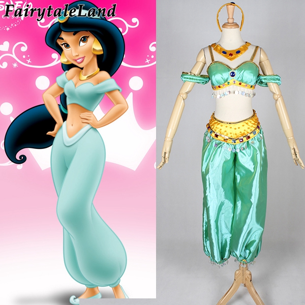 adult halloween sexy costume for women Aladdin and the Magic Lamp Princess Jasmine cosplay costume Princess Jasmine costume