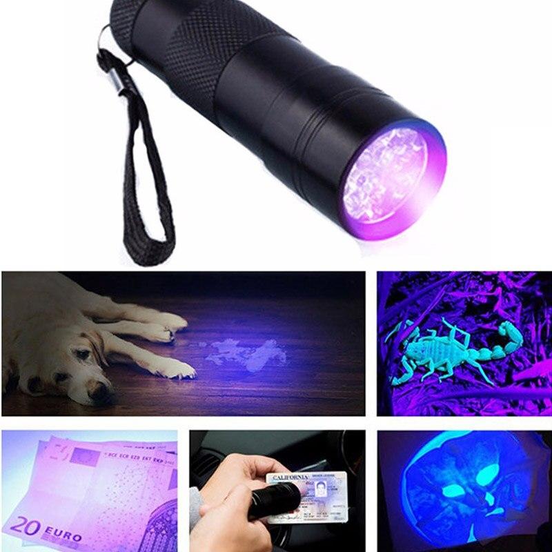 9 LED UV مصباح علاجي إصلاح الأشعة فوق البنفسجية علاج أضواء مصباح الأشعة فوق البنفسجية AAA بطارية للهاتف المحمول آيفون سامسونج شاشة تعمل باللمس