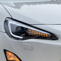 Car Styling for FOR Toyota FT GT 86 FT86 GT86 Subaru BRZ 2012 2018 Headlights LED Headlight DRL Lens Double Beam