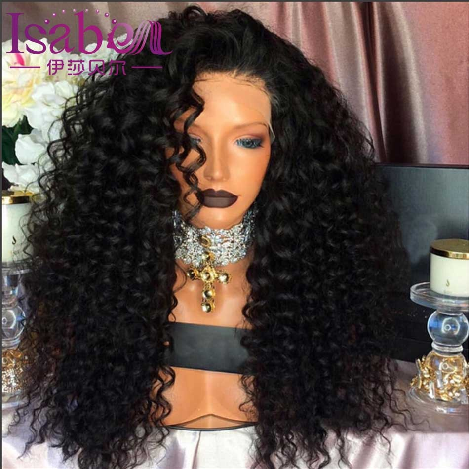 Isabel 9A Loose Deep Wave Human Hair Wigs Glueless Full Lace Human Hair Wigs For Black Women Curly Lace Front Human Hair Wigs (1)