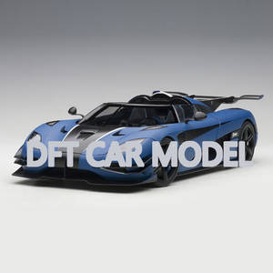 Toy Cars Car-Model Vehicles Children's 1:18-Scale of One:1 Authorized Super-Sports Original
