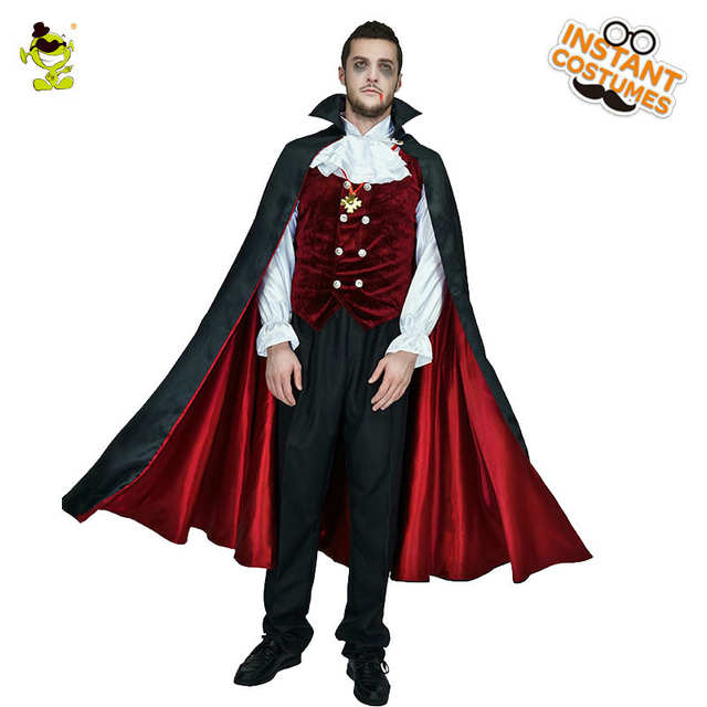 Мужские готические вампирские костюмы Европа вампир взрослые мужчины  Косплей наряд для Хэллоуина Карнавальная вечерние Ролевые костюмы 7a41307b418