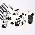 Punk Figure Japan Striped Cartoon Ankle Socks Cotton Line Anime Korea Warm Sweat Socks Harajuku British Style Women In Tube Sock