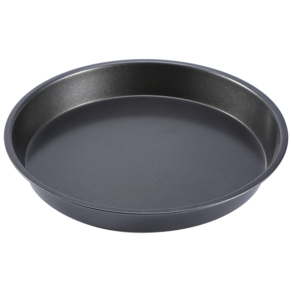 8in Pizza Pan Baking Dish Tray Microwave Bakware Cake Non Stick Oven Pan Kitchen