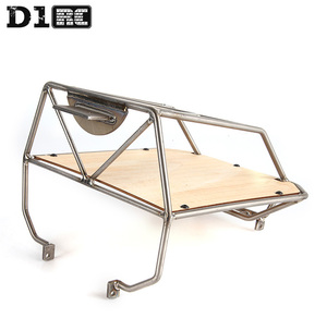 Image 5 - D1RC Original High Quality Metal Bucket Roll Cage back cage For Axial AX80046 SCX10 AX90022 Crawler RC