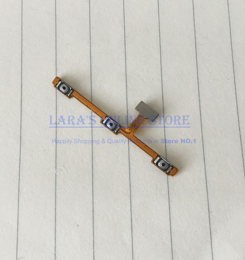 JEDX Original New Power Volume Button Flex Cable for Meizu M2 Note Power On Off Volume Up Down Replacement Parts