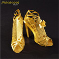 ICONX Piececool 3D Puzzle Metal Toy, High Heeled Sandal P030G Educational Puzzle 3D Models Brinquedos, Toys For Children