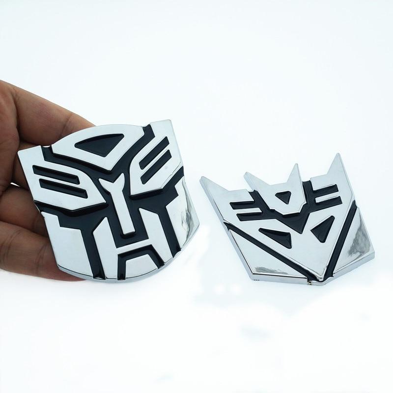 3D Logo Protect Autobot Transformer Emblem Badge Graphics Decal Car Sticker Logo