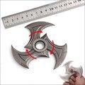 Sombra Maestro Zed Shuriken Armas Modelo Llavero de Aleación de Zinc de Alta calidad Embroma el Regalo de Navidad