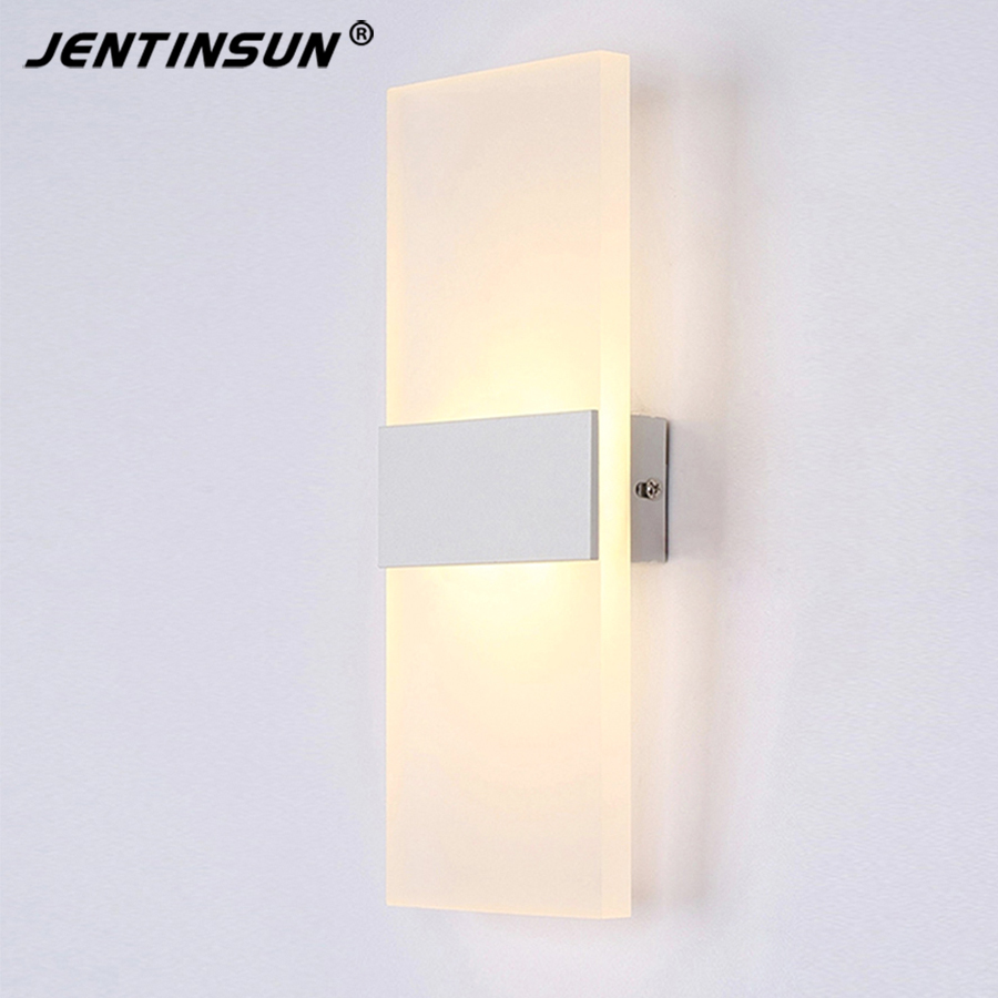 Acrylic 25cm 6W warm white modern led wall light Creative shape wall lamp lights for home Decoration Factory Wholesale new design nature white 2heads 6w 30cm led modern crystal wall lights lamp sconce factory wholesale led lightings