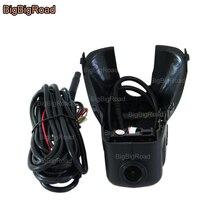 цена на For volvo s60 2012 car front camera Driving Video Recorder Car Black Box Wifi DVR Dash Cam wide angle Keep Car Original Style