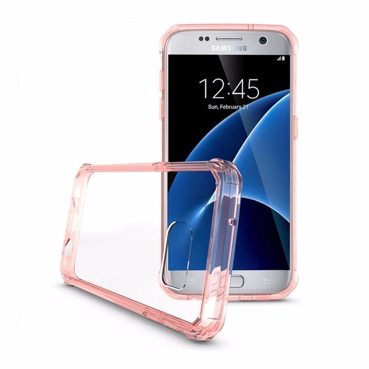 Samsung Galaxy S7 üçün Kristal Təmiz Arxa Panel Qabıqlı Ultra - Cib telefonu aksesuarları və hissələri - Fotoqrafiya 3