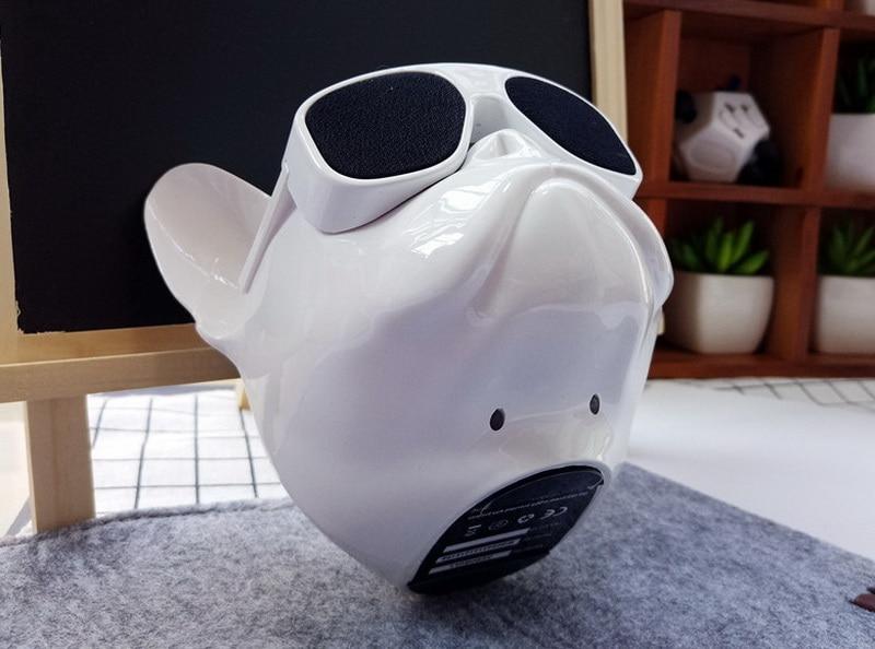 bull dog Nano Wireless Speaker Bulldog Bluetooth Speaker Outdoor Portable HIFI Bass Speaker Multipurpose Touch Control (18)