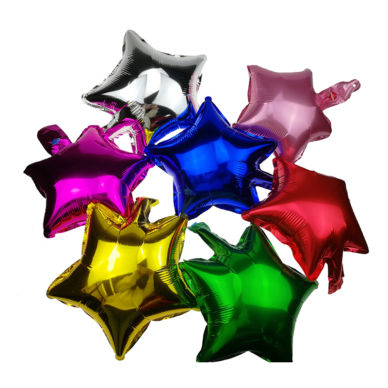 1PCS 10inch Star Balloons Birthday Wedding Party Decoration Baloon Baby classic Toys for Children Boys Girls