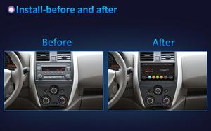 Image 5 - PX6 4GB+64GB 2din 1 DIN car radio gps android 10 car stereo player recorder Radio Tuner GPS Navigation support  SWC DSP HDMI