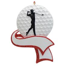 MAXORA Boy Golf Player Athlete Sports Christmas Ornament Personalized Gift Decorations for Home