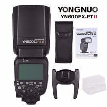 YONGNUO YN600EX-RT II Wireless Flash Speedlite with Optical Master and TTL HSS for Canon Camera Speed Light