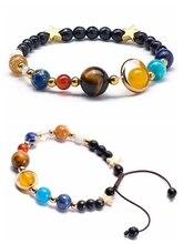 2019 Newst 7 Chakra Bracelet Men Black Lava Healing Balance Beads Reiki Buddha Prayer Natural Stone Yoga for Women