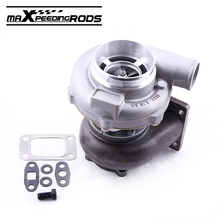 GT3076R GT3037 GT30 T3 Flange 500HP Turbo Turbocharger For All 6 8 Cyl A/R .6 A/R .82 Water Cooled Universal anti-surge Turbine