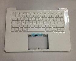 Yourui б/у A1342 Топ чехол для Macbook 13 A1342 Белый Универсальный Упор для рук Топ чехол с раскладкой клавиатуры США 2009 2010