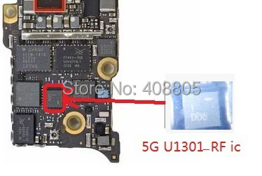 5pcs/lot U1301 RF motherboard fix part for iphone 5 5g