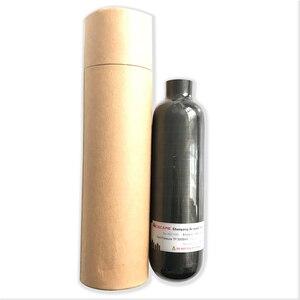 Image 5 - AC3035 Acecare fusil à Air comprimé 350cc 4500Psi PCP/Paintball réservoir noir PCP cylindre de Fiber de carbone pour la chasse HPA réservoir dair comprimé