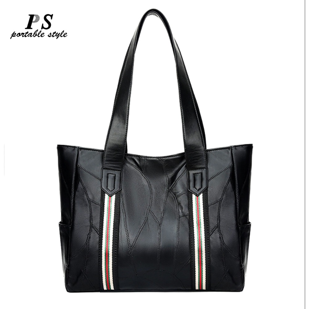 ... 2019 new Luxury Brand women Genuine leather bags Women Real leather  Handbags Large Totes bag Designer Vintage Female Hand bags 25da70666e6e5