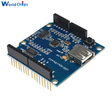 USB Host Shield Support Google for Android ADK & UNO MEGA Duemilanove 2560 For Arduino(China)