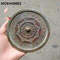 13 см китайские древние двенадцать созвездий зерна бронзовое зеркало украшение для дома подарок металлические изделия