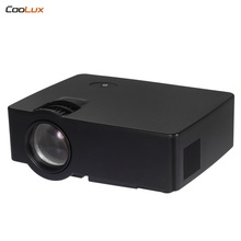 E08 LCD LED Projector 1500 Lumens 800 x 480 Pixels Support 1080P HD Media Player with Airplay Miracast