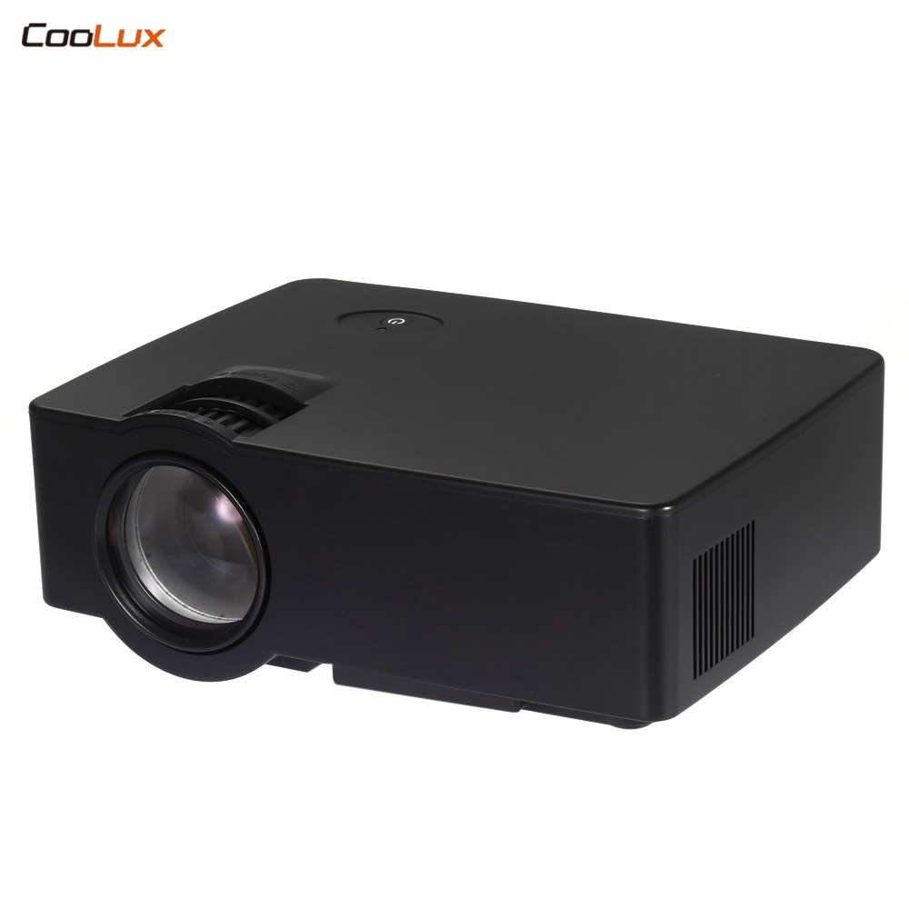 E08 lcd led proyector 1500 lúmenes 800x480 píxeles ayuda 1080 p HD Media Player con AirPlay miracast