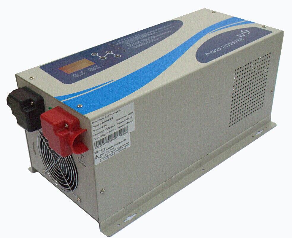 Pure Sine Wave Lcd Display Inverter 48v 220v 5000w Peak Power Circuit 5000 Watt Schematic Grid Tie Micro Gel 15000w Ups Invertergrid Off Converter Built In 30a Ac Charger Inverters Converters
