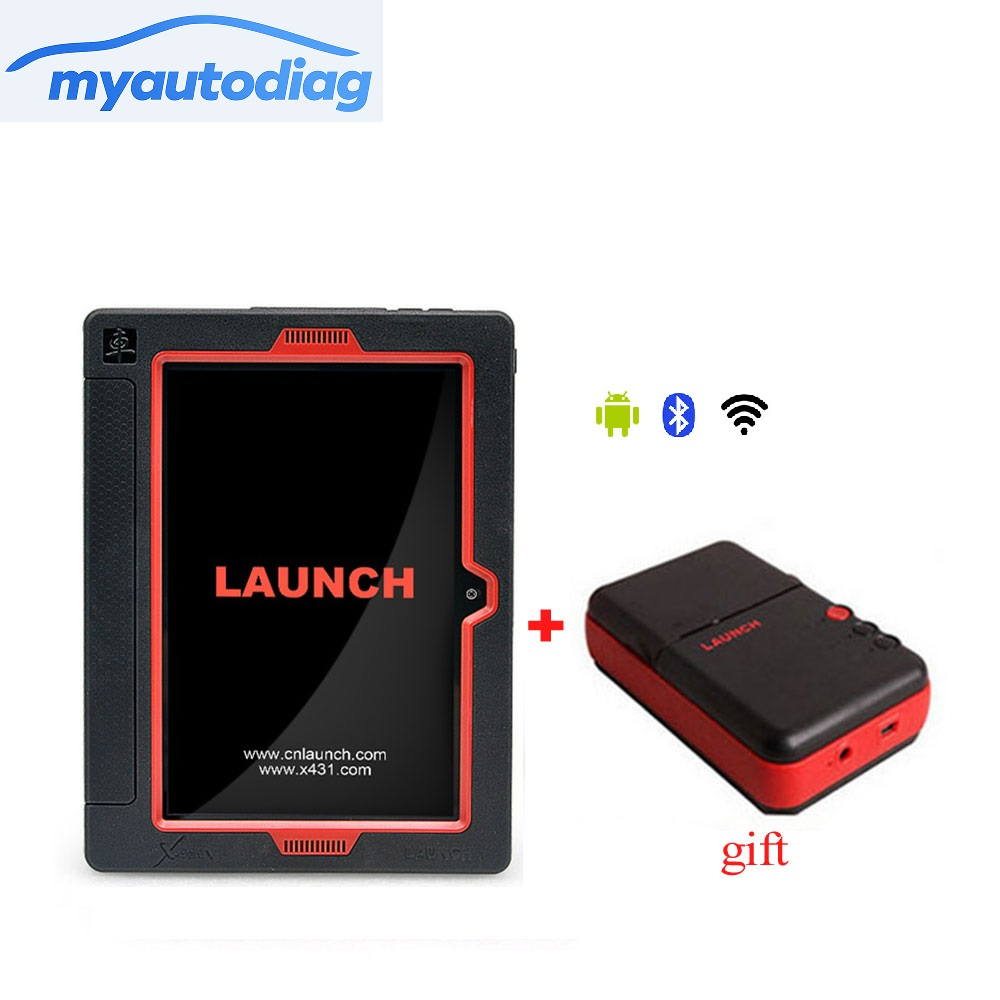 New Arrival Original Launch X431 V Plus Wifi Bluetooth Tablet Full System Diagnostic Scanner X431 V+ MINI WiFi Printer For Gift