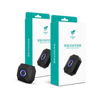 Latest Coollang Xiaoyu 3.0 Badminton Racket Sensor Tracker Motion Analyzer with Bluetooth 4.0 Compatible with Android and IOS