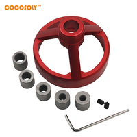 Cocosoly High Quality Drill Guide Woodworking Hole Puncher Vertical Drilling Fixture Wood Working Locator 08560