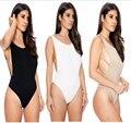 Sexy 1 um pedaço swimsuit Sem Encosto Macacão ming terno de natação para as mulheres Swimwear maiô Monokini Rompers Playsuit Praia Wear