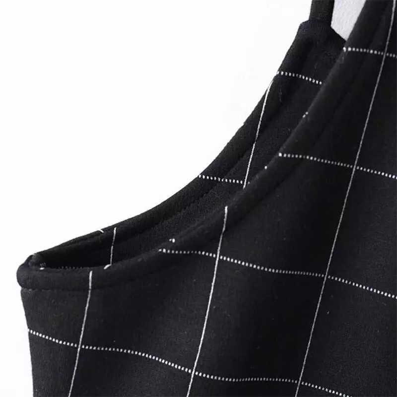 Винтаж плед с открытыми плечами платье Для женщин летние пикантные ремень мини-платье А-силуэта из женские офисные Повседневное дышащие вечерние платье Vestido