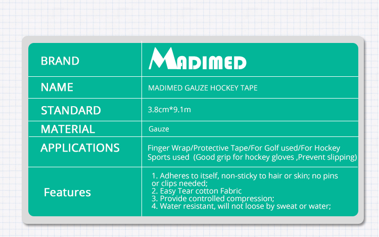 4 rolls /lot Gauze golf tape G tape Ice hockey grip tape Good grip ...