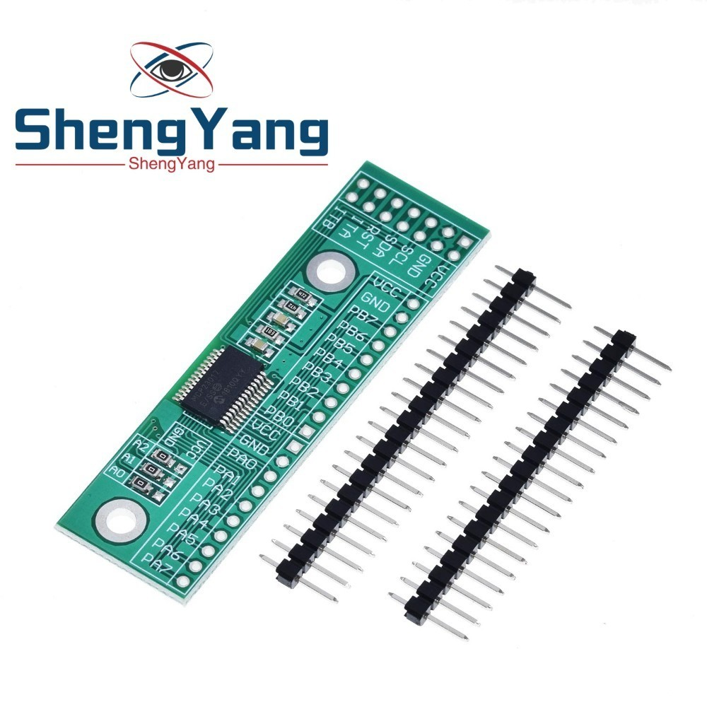 MCP23017 I2C Interface 16bit e/s Module dextension carte de broche IIC à GIPO convertisseur 25mA1 alimentation dentraînement pour Arduino et C51