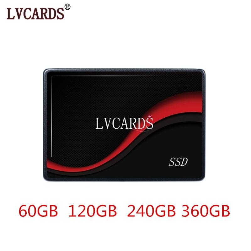 LVCARDS 2.5 SATA2 SATA3 SSD 60GB 360GB 240GB SSD 120GB 240gb Internal Solid State 480gb 512gb 1tb Hard Disk For Computer 1