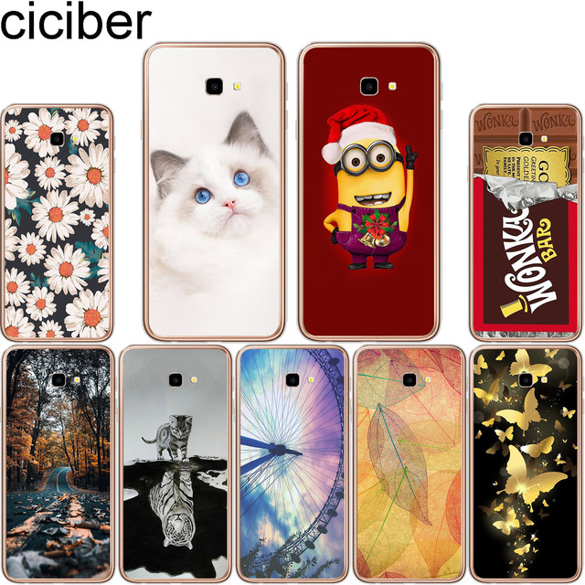 the best attitude b81dc cd202 US $1.14 48% OFF ciciber 6.0'' For Samsung Galaxy J4 Plus Soft Silicone  Phone Cases for Galaxy J4+ Back Cover Transparent TPU Fundas Coque Capa-in  ...