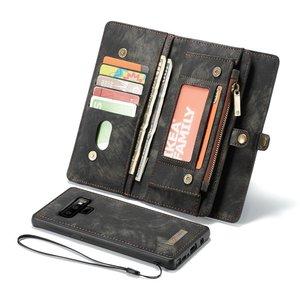 Image 2 - Sac à main bracelet étui de téléphone pour Samsung Galaxy s 8 9 note 20 Ultra 10 + Plus 8 9 s7 edge coque accessoires de couverture en cuir de luxe