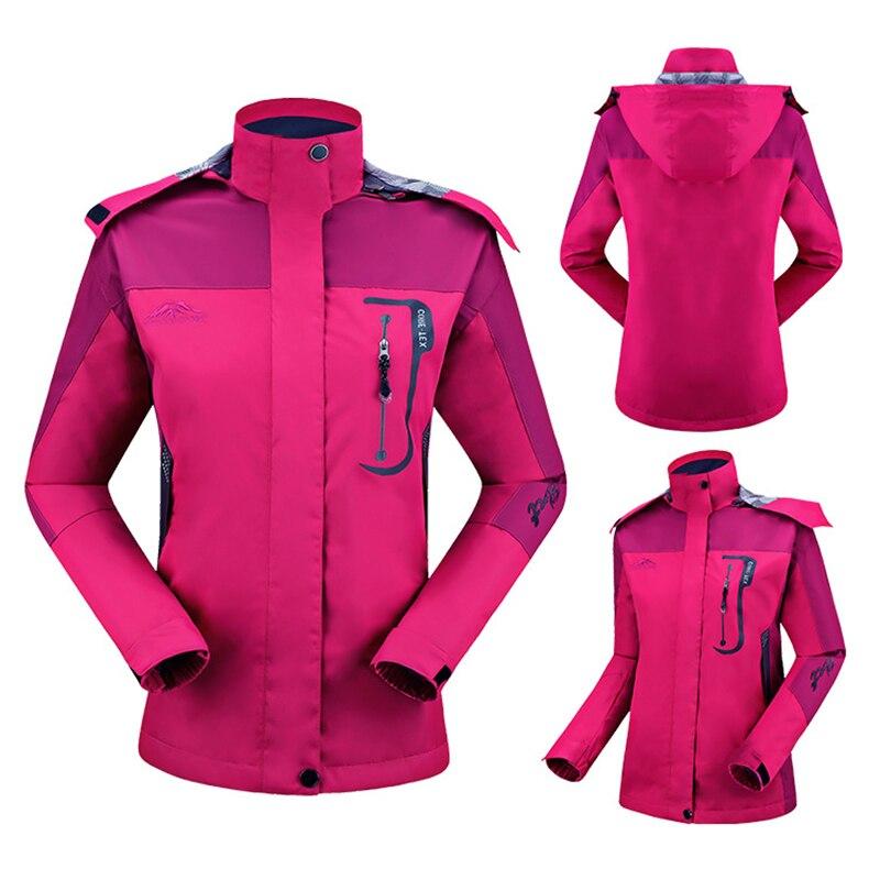 2018 Women Windbreaker Waterproof Jacket Outdoor Spring Windproof Trekking Hiking Jackets Woman Rain Coat Female Clothing
