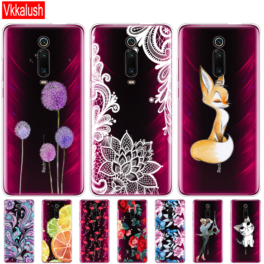 Case For Xiaomi Redmi K20 Mi 9T Case Soft Silicon Phone Back Cover Case For Xiaomi Redmi K20 Pro Mi 9T PRO Protective Back