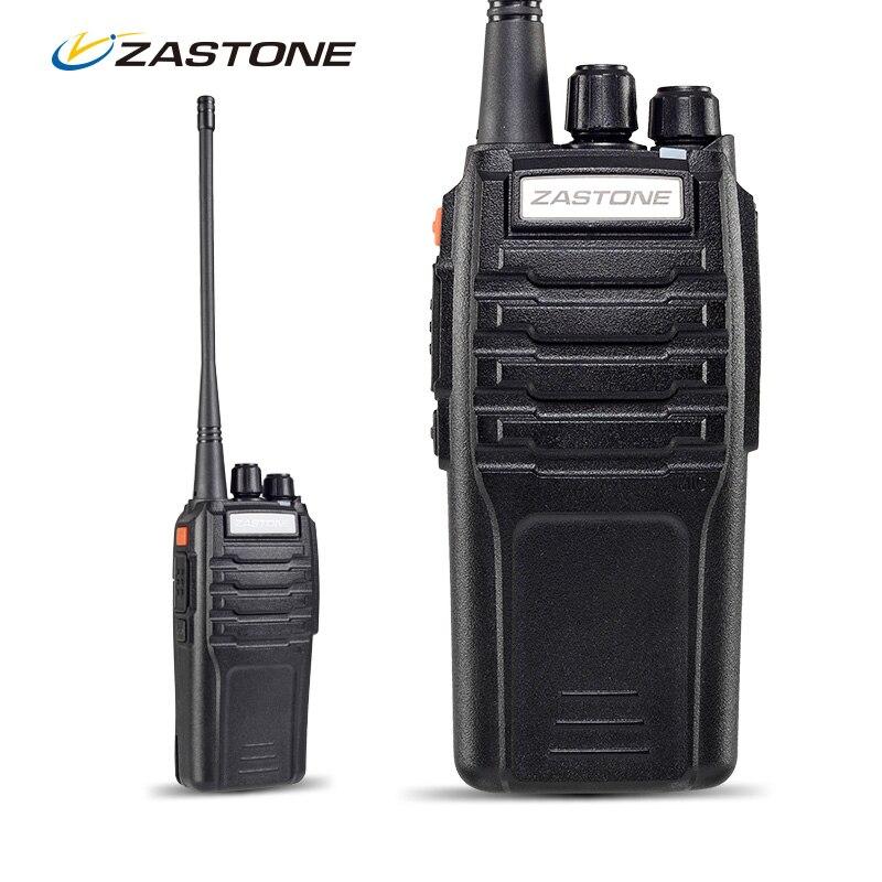 imágenes para Zastone ZT-A9 10 W Equipos de Comunicación Walkie Talkie UHF 400-480 MHz Transmisor-Receptor Portátil CB Radio Walkie Talkie Portátil 10 km