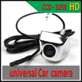 Silver Reverse Camera Universal HD Car Rear View Camera CCD-355B Parking Assistance Camera NTSC/PAL Parktronic car electronics