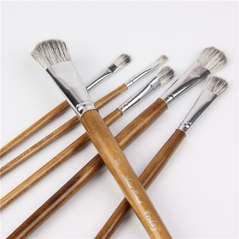 Squirrel Hair Brush Watercolor Acrylic Paint Brush Art Supplies Set For Drawing Painting Brush Pen Artist Oil Painting Brushes