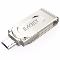 EAGET USB 3 0 Flash Drive Mini Pen Drive Portable Memory Stick U Disk For Android