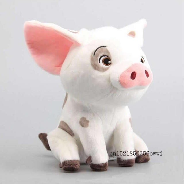 22cm Moana Pet Pua Pig Stuffed Animals Cute Plush Toys In Movies
